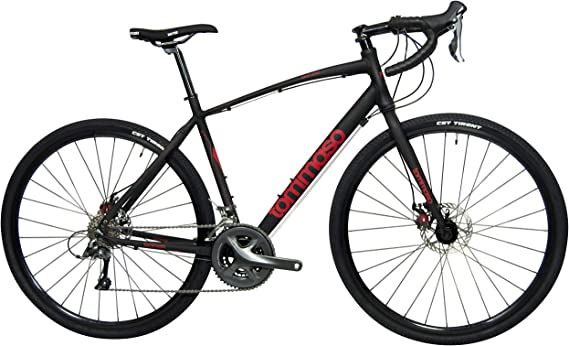 Tommaso Sentiero Shimano Claris Gravel Adventure Bike with Disc Brakes