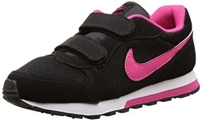 Nike MD Runner 2 (PSV) - Zapatillas para niña, Color Negro/Rosa/Blanco: Amazon.es: Zapatos y complementos