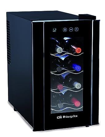 Orbegozo VT 800 Vinoteca de 8 Botellas con Display Digital, Metal ...