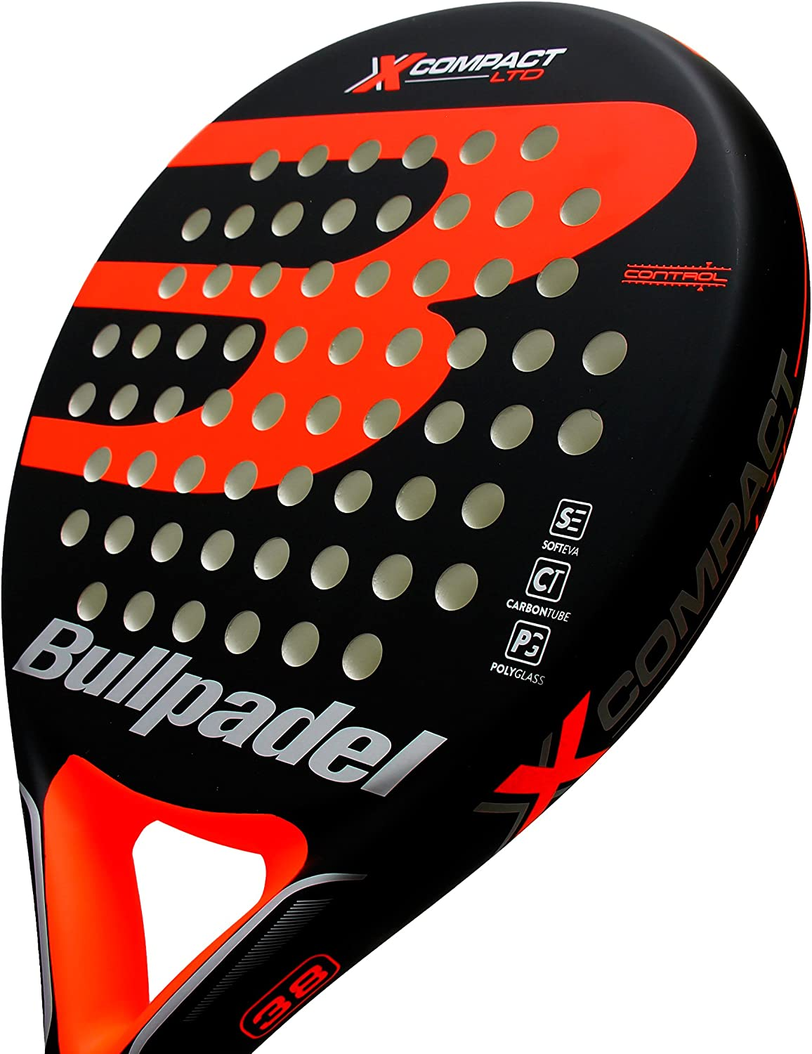 Pala de pádel Bullpadel X-Compact LTD Orange: Amazon.es: Deportes ...