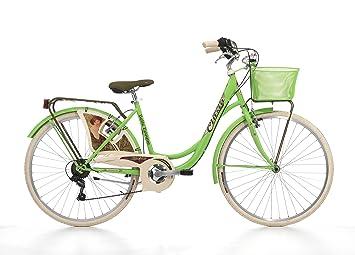 Fahrrad Cicli Cinzia Belle Epoque Damen Stahlrahmen 6 Gang 26 Zoll Größe 44
