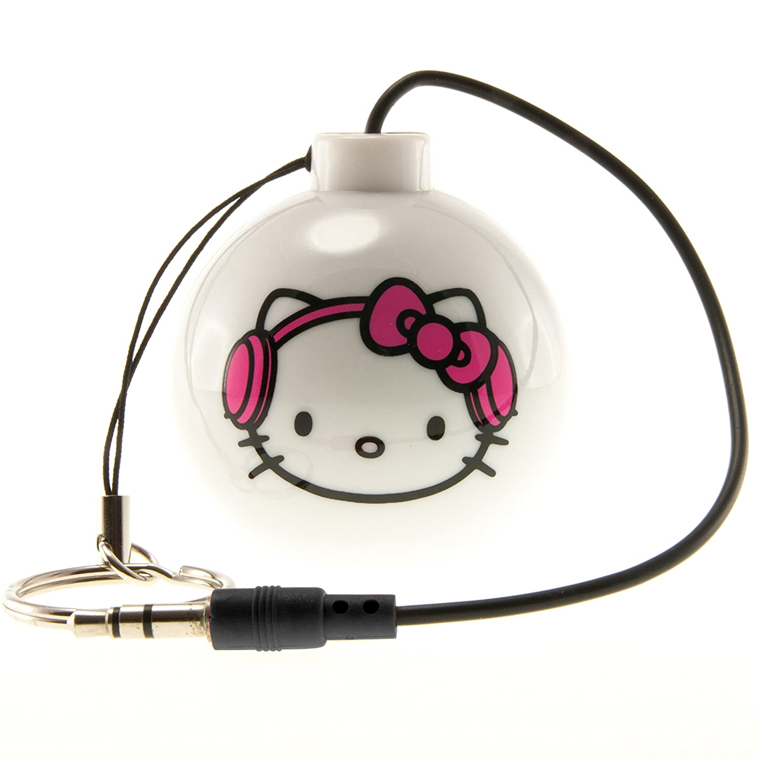Hello Kitty HK0023W - Altavoz portátil recargable con ...