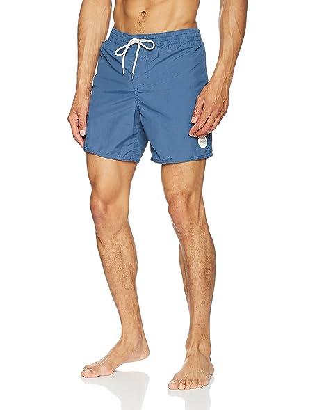 O'Neill Men's Vert Solid Colour Swim Shorts, Dusty Blue Small Dusty Blue