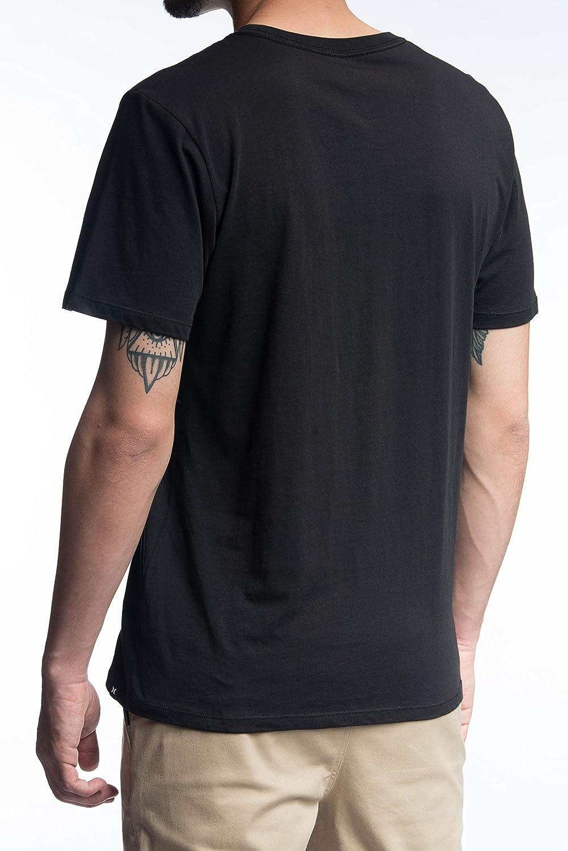 Hurley Flamo OAO Prem Tee SS Geo Shirts Homme