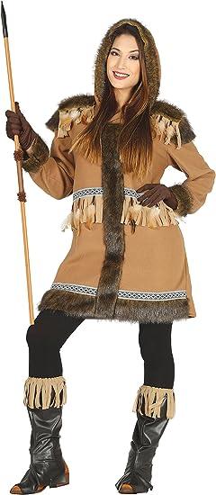 Guirca- Disfraz adulta esquimal, Talla 42-44 (88163.0): Amazon.es ...