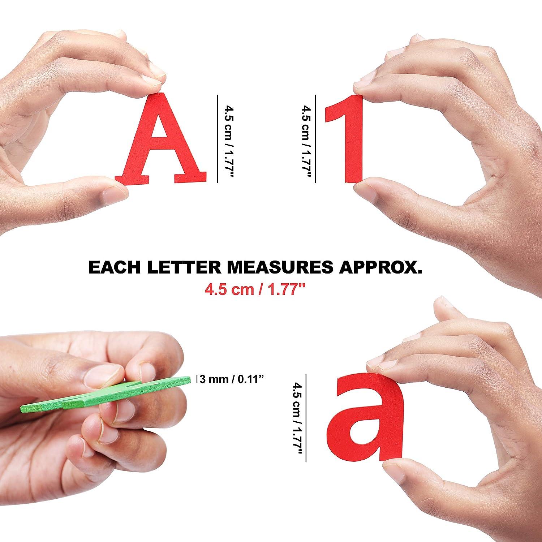 20 Numeri Legno Set di Lettere Legno Maiuscole A-Z Lettere di Legno Minuscole 52 pz 124pz - Lettere Legno Bambini per Casa e Fai da Te 0-9 Lettere in Legno Piccole e Numeri in Legno Colorate