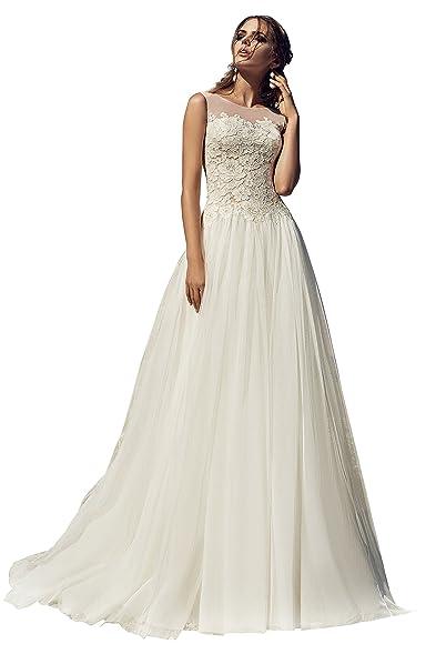 lanesta woman s tulle wedding dress a line silhouette beryl at