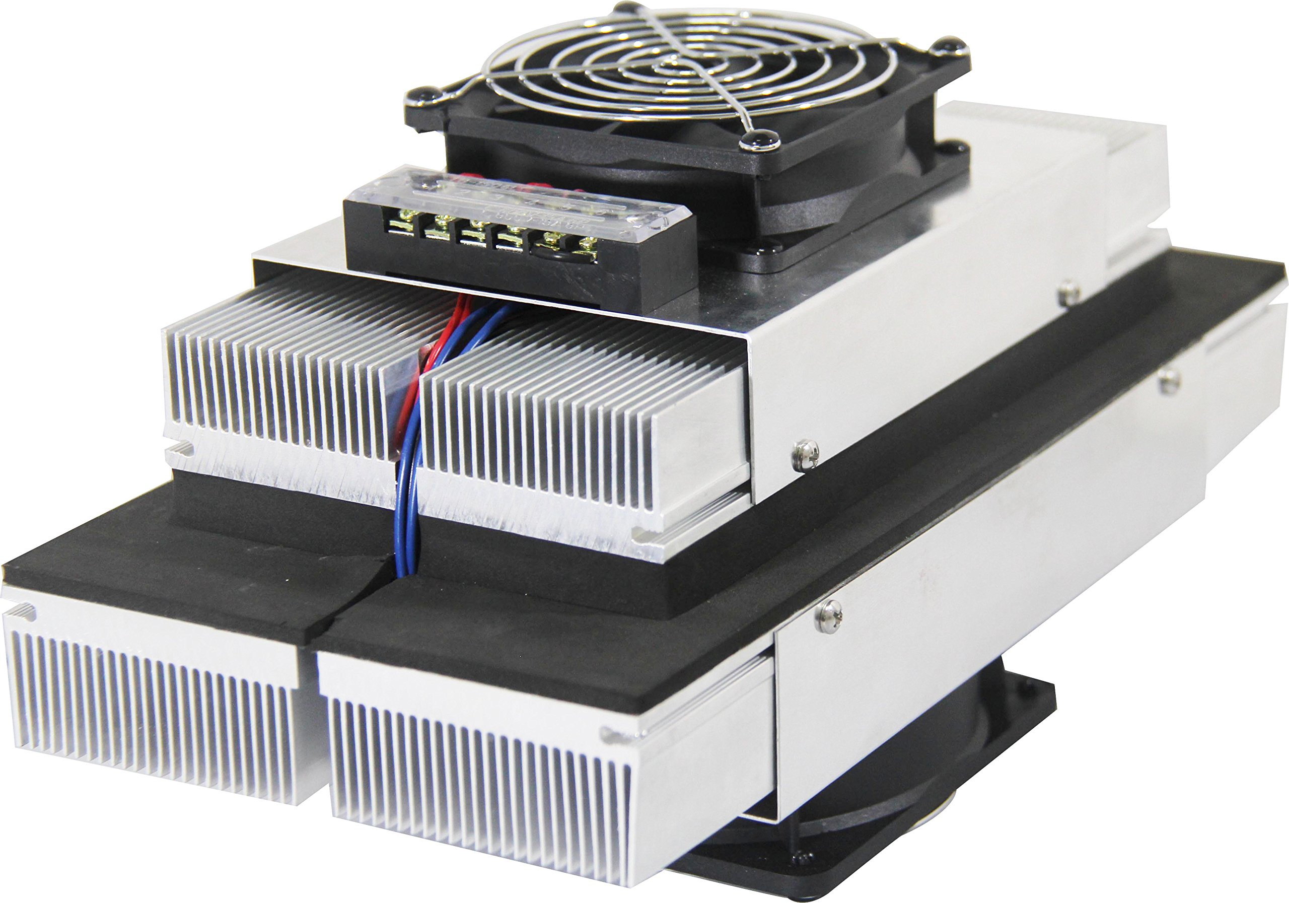 P&N TECHNOLOGY Small Thermoelectric Peltier Air Cooler 100W 24V -10 - 50C R&D Thermoelectric Cooler