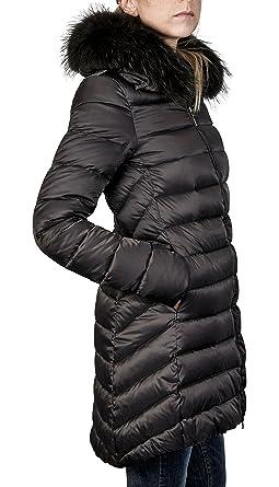 Mantel mit echtfell