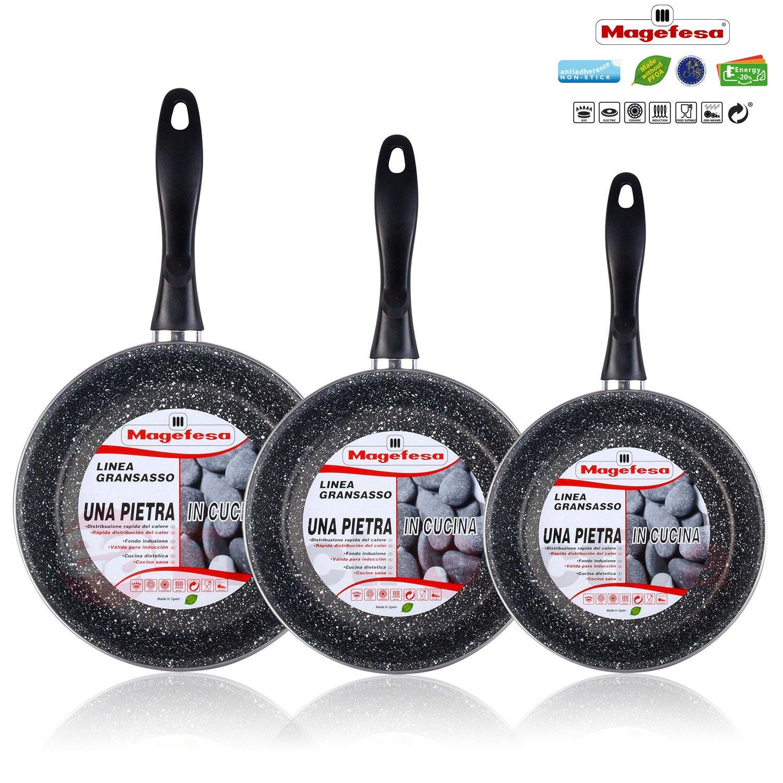 Juegos De Sartenes Y Ollas Amazon Es ~ Baterias De Cocina Para Placas De Induccion