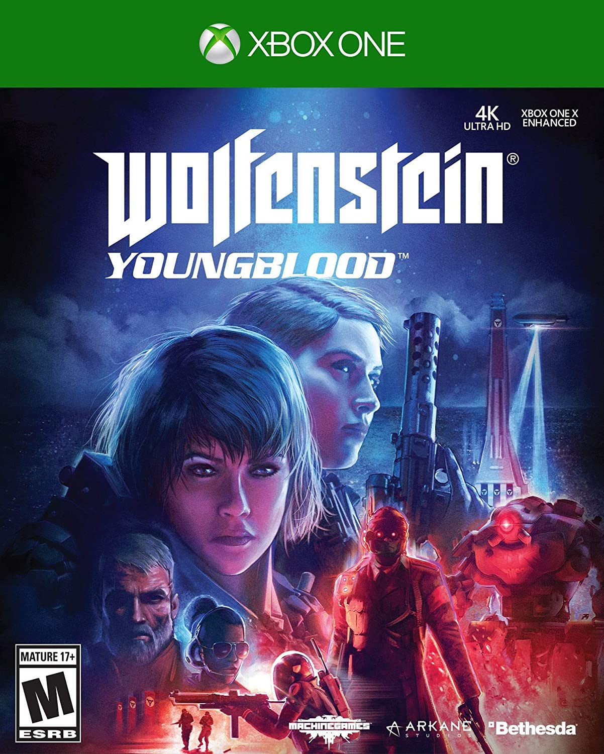 Microsoft Wolfenstein: Youngblood vídeo - Juego (Xbox One, Shooter, T (Teen)): Amazon.es: Videojuegos