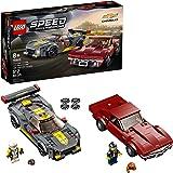 LEGO® Speed Champions Chevrolet Corvette C8.R Race Car e 1968 Chevrolet Corvette