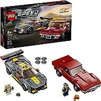 LEGO Speed Champions Chevrolet Corvette C8.R Race Car and 1968 Chevrolet Corvette 76903 Building Kit; New 2021 (512…