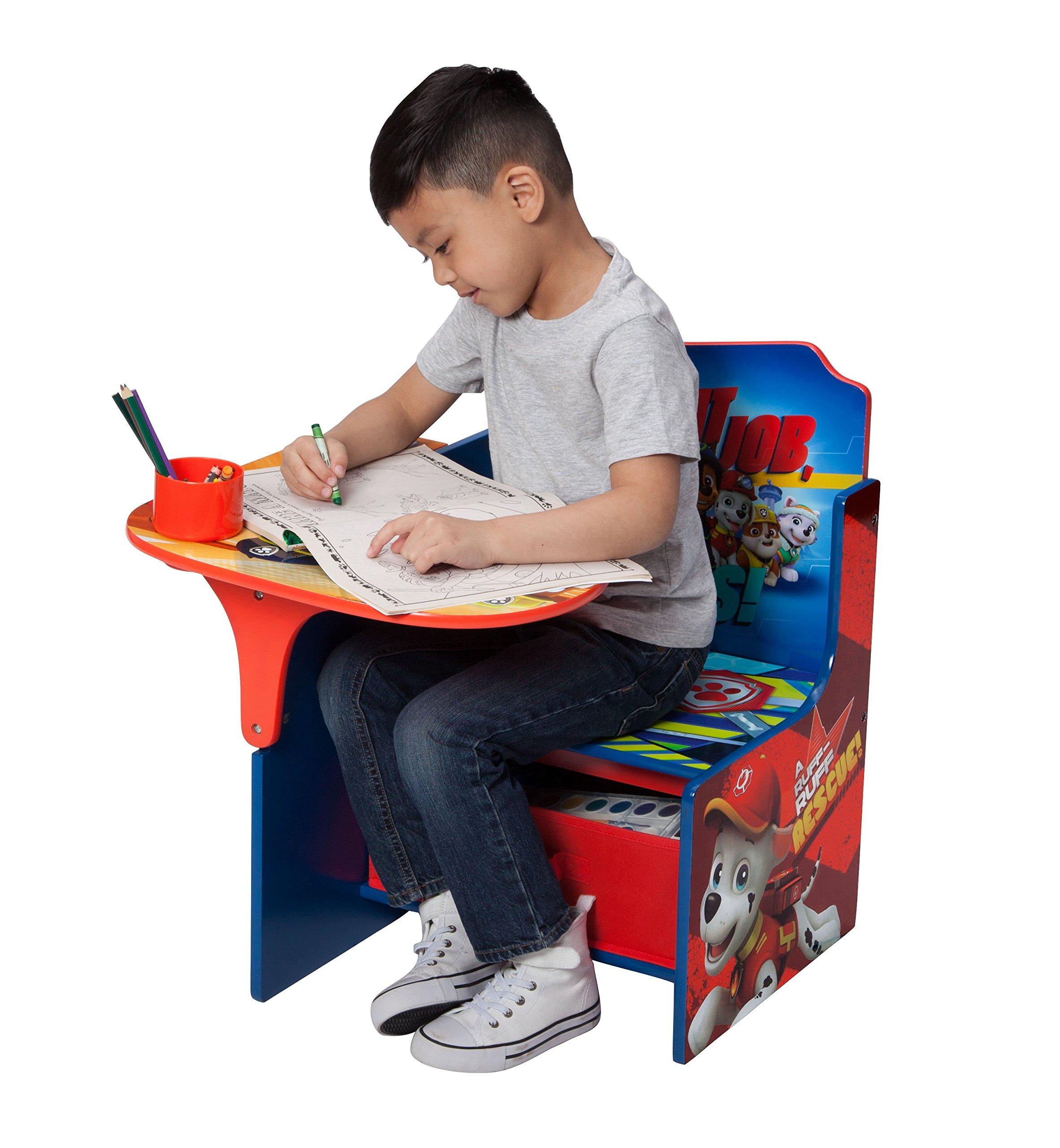 Delta Children Chair Desk with Storage Bin – Ideal for Arts & Crafts, Snack Time, Homeschooling, Homework & More, Nick…