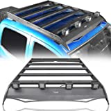 Hooke Road Tacoma Top Roof Rack Luggage Cargo Carrier w/4x18W LED Lights for 2nd 3rd Gen Tacoma 2005-2021 4-Door Double…