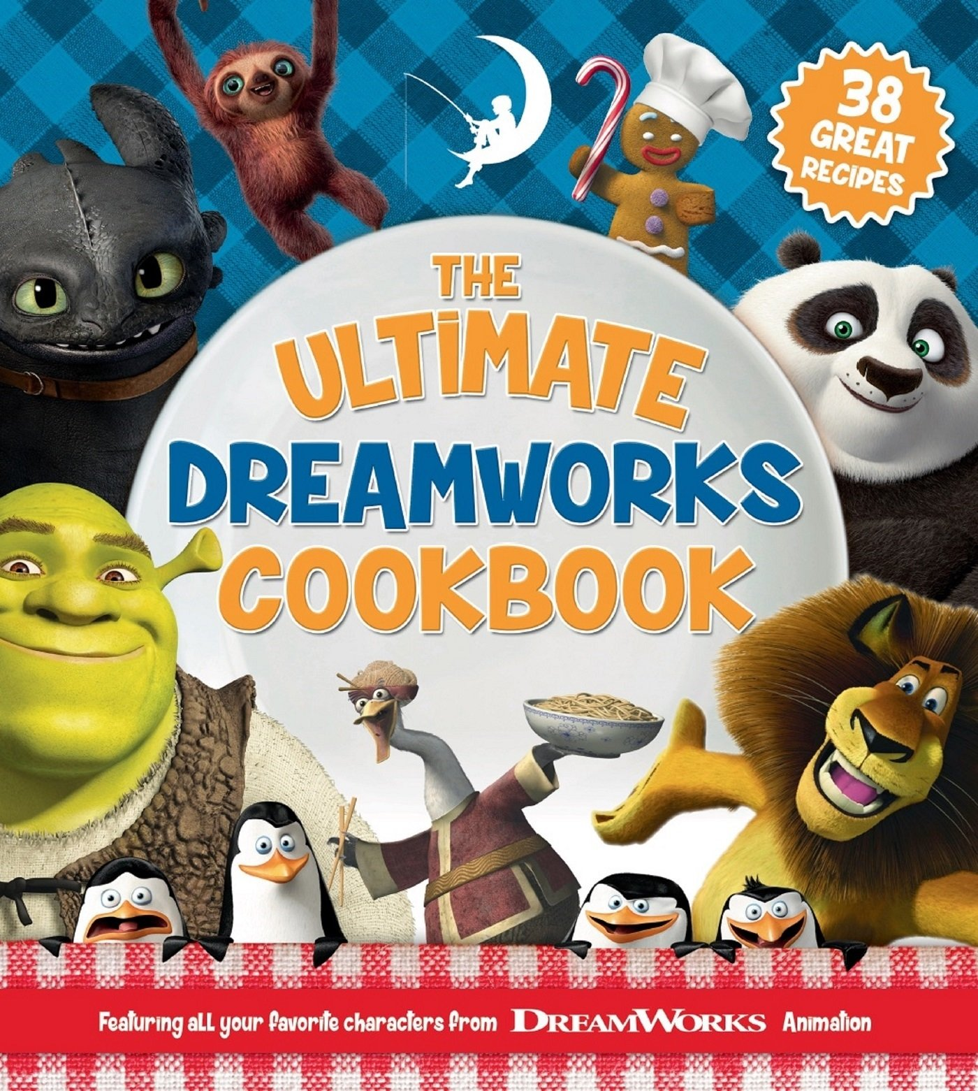 Download The Ultimate DreamWorks Cookbook: 38 Great Recipes pdf