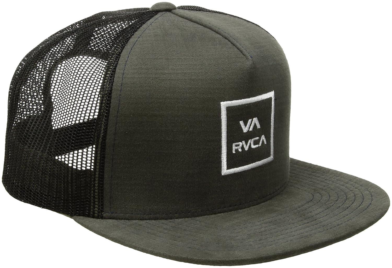 (ルーカ)RVCA VA All The lll Way Trucker Hat メッシュキャップ 帽子 サイズ調整可能 ロゴ B01MZ2XF2W  ダークオリーブ One Size