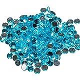 Pack of 1000 x Aquamarine Crystal Flat Back Rhinestone Diamante Gems 4mm