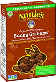 Annie's Homegrown Organic Chocolate Bunny Grahams, 213 Grams