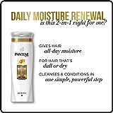Pantene Pro-V Daily Moisture Renewal 2 in 1 Shampoo & Conditioner, 30.4 fl oz