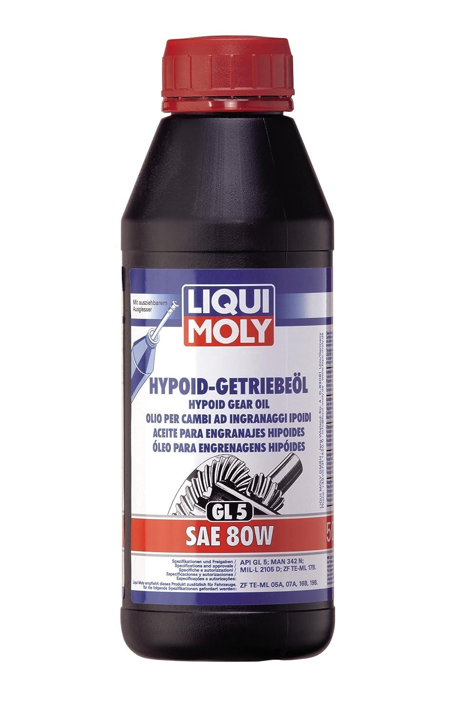 Liqui Moly 1025 Aceite para Engranajes Hipoides, GL5, SAE 80 W, 1 L