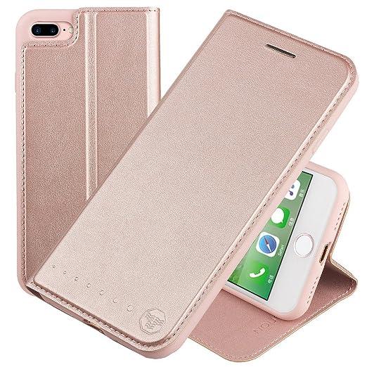 141 opinioni per Nouske Custodia a portafoglio per iPhone 7 plus Apple da 5.5 pollici con