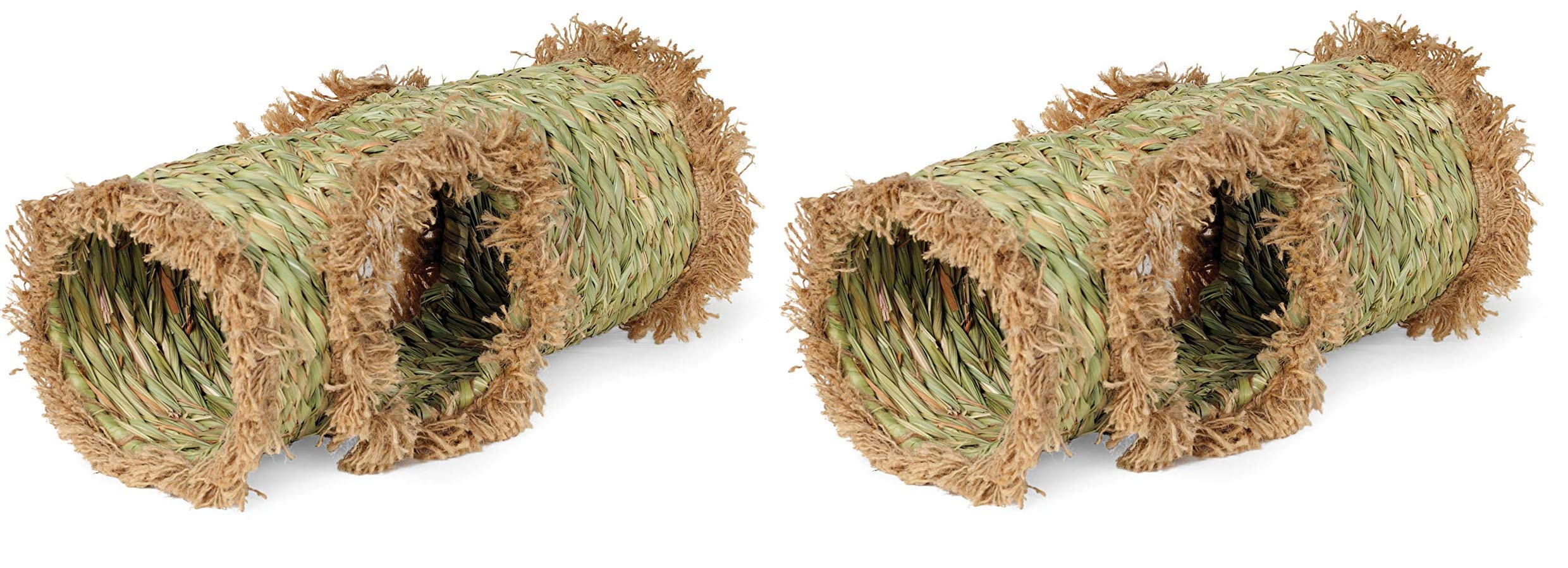 Prevue Hendryx 1098 Nature's Hideaway Grass Tunnel Toy (Тwo Рack) by Prevue Hendryx