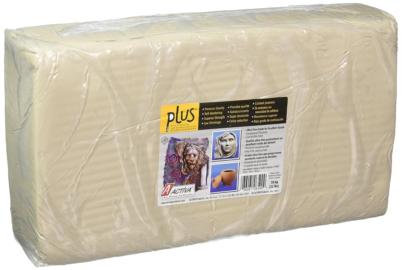Activa Plus Clay, 22-Pound, color blanco