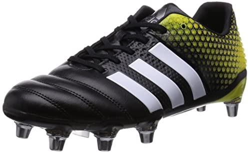 Adipower Kakari 3.0 SG Rugby Boots - Size 8 Yellow  Amazon.co.uk ... 9a35d2a8bebb