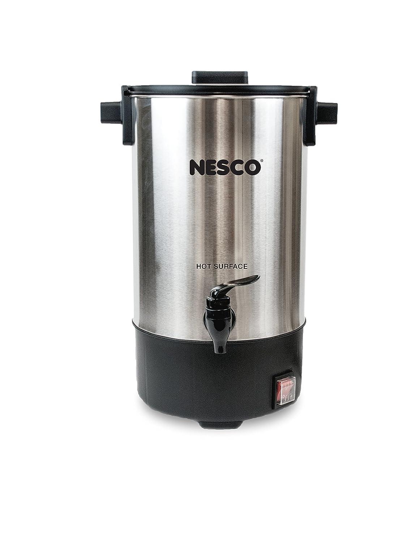 Nesco American Harvest CU-25 25 Cup Coffee Urn, Stainless Steel/Black