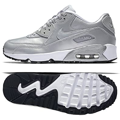 7584c60b60056c Nike Womens Air Max 90 Se Leather Metallic  Amazon.co.uk  Shoes   Bags