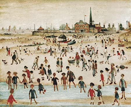 Image result for lowry seaside painting