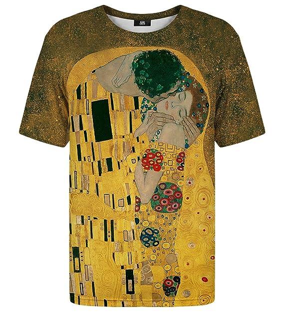 912b5e51e5ae Mr Gugu   Miss Go Uomo Donna T-Shirt Stampata Kiss  Amazon.it ...