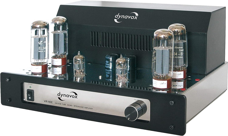 Chrom 80 Watt RMS Mono R/öhrenverst/ärker R/öhrenvollverst/ärker VR-80E