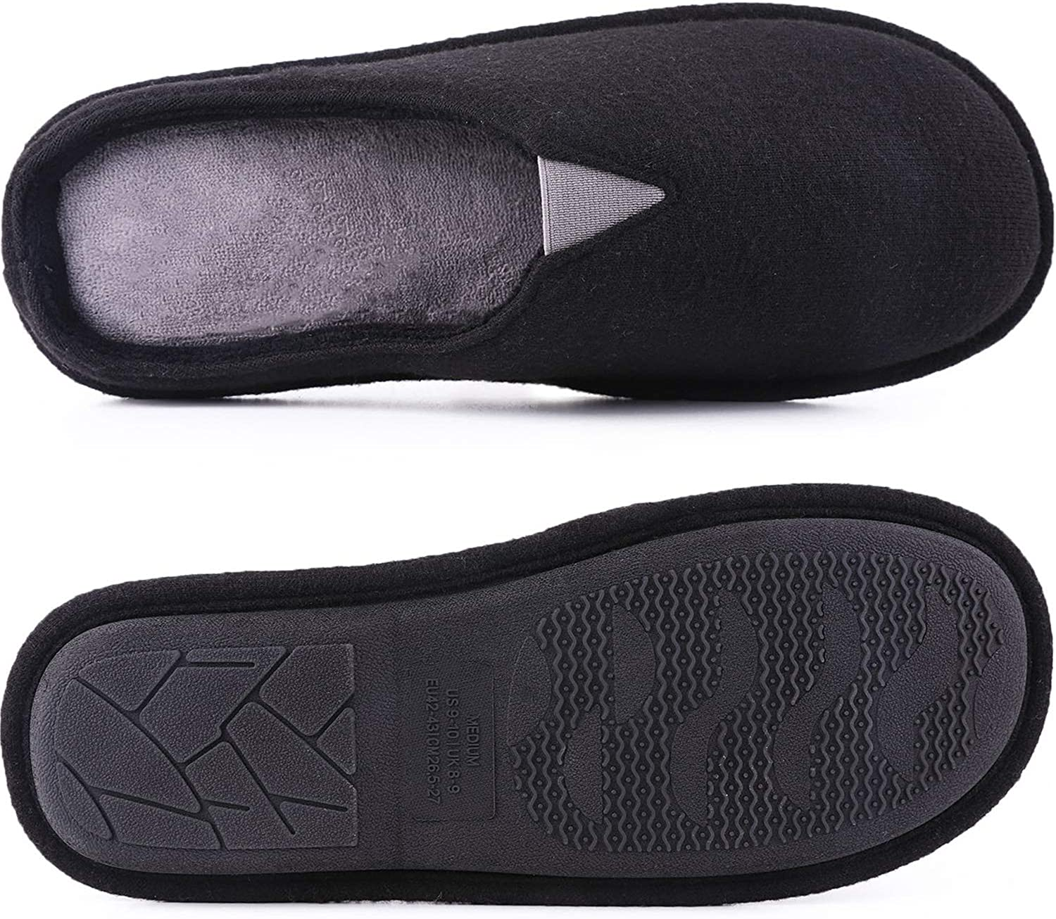 Amazon.com | EverFoams Men's Comfort Memory Foam Slip-on with ...