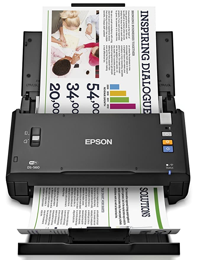 Amazon com: Epson WorkForce DS-510 Color Document Scanner (Certified