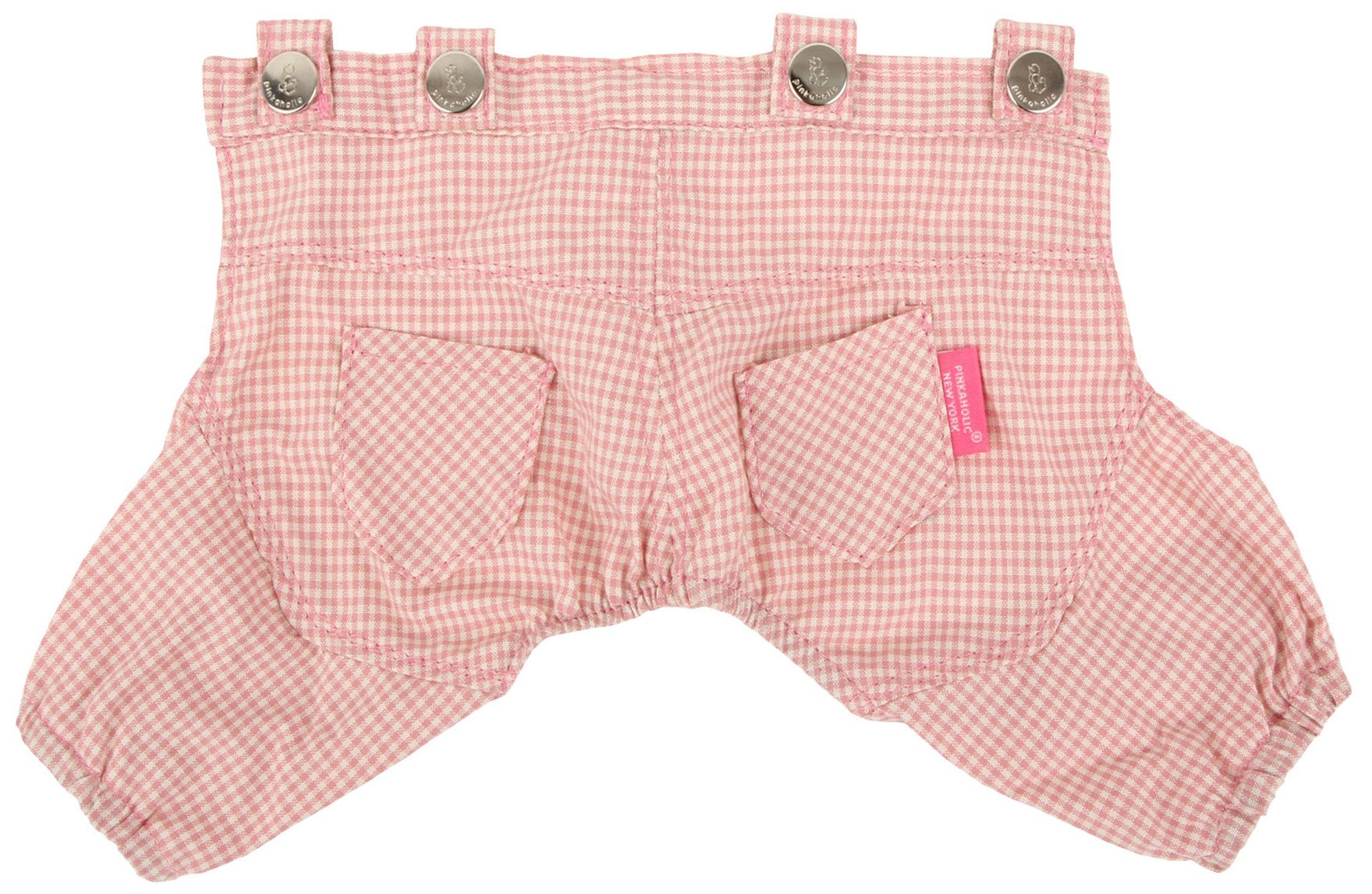 Pinkaholic New York Motley Pants for Dogs, Pink, Medium