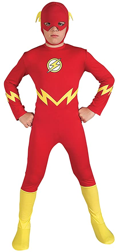 Justice League The Flash Childu0027s Costume Small  sc 1 st  Amazon.com : the flash costume womens  - Germanpascual.Com