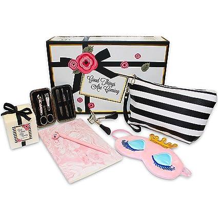 En caja de regalo para mujer. Caja perfecta para su cumpleaños, baby shower, boda, novia. Perfecto para mujeres, mamá, tumba, hermana o amiga.