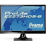 Iiyama ProLite E2273HDS-B1 54,7 cm (21.5 Zoll) LCD-Monitor (TFT, VGA, HDMI, DVI-D, 2ms Reaktionszeit)