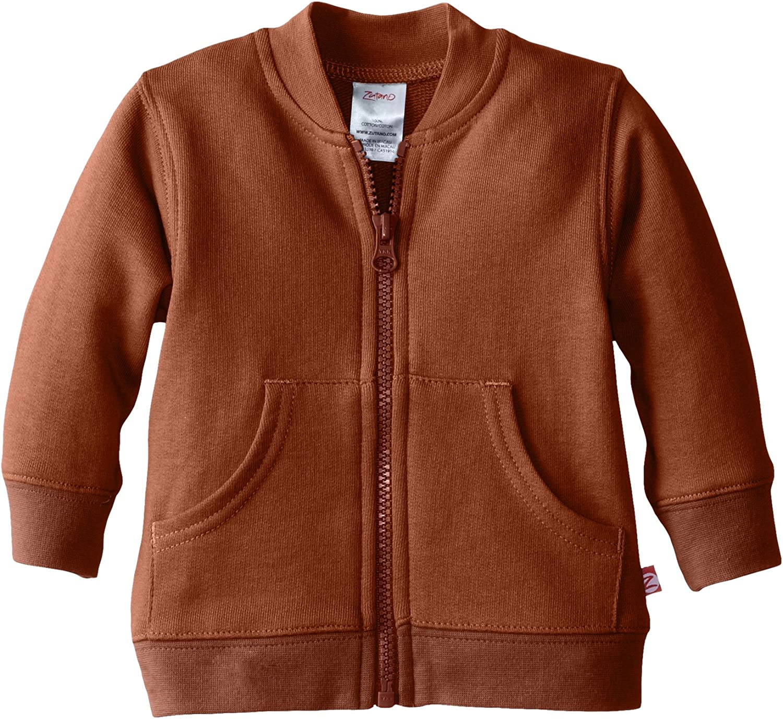Zutano Baby Boys French Terry Zipper Jacket