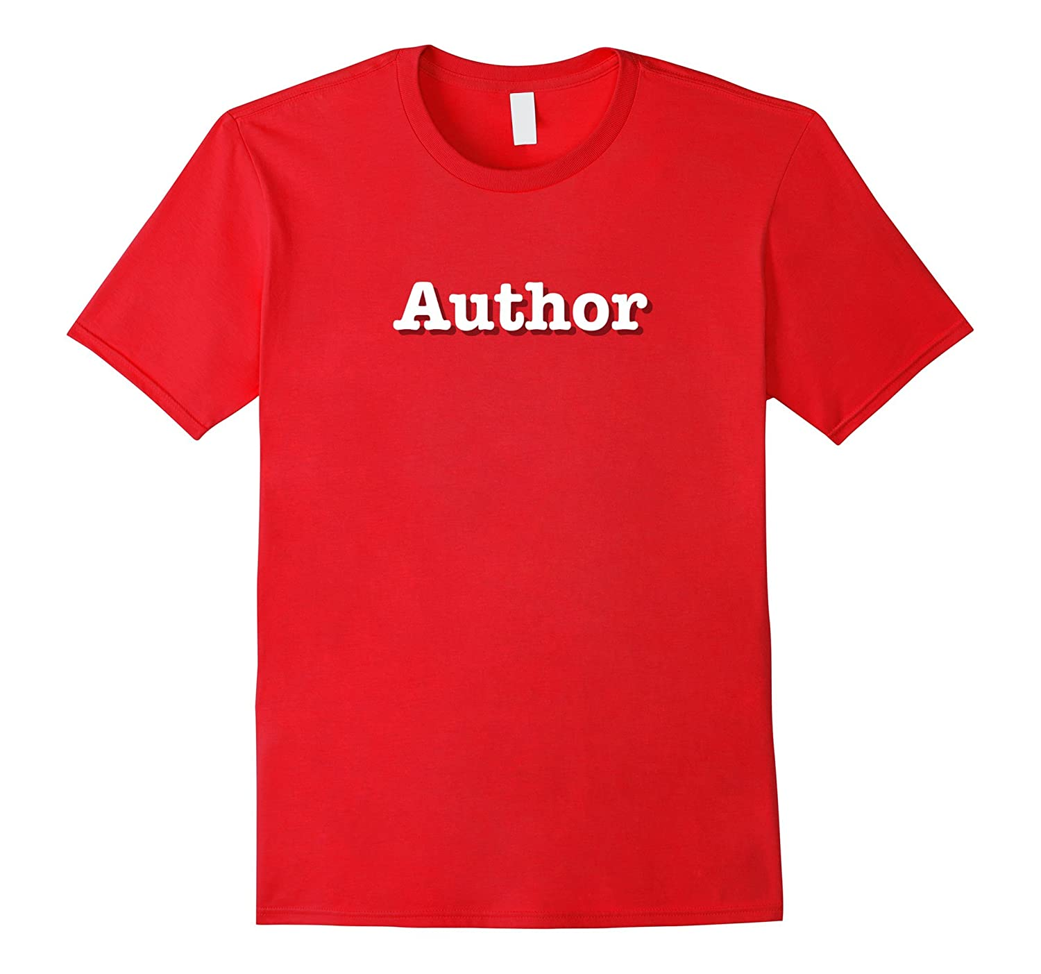 Author T-Shirt  Tee--a perfect author gift-TJ