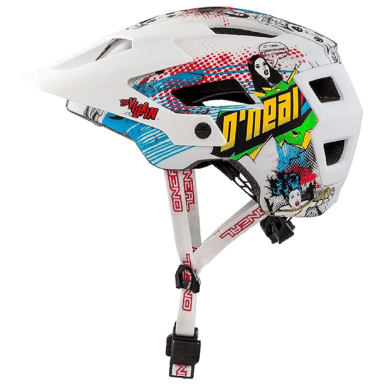 O& 039;Neal Defender 2.0 Villain Fahrrad Helm All Mountain Bike Enduro MTB Magnet Verschluss, 0502-84