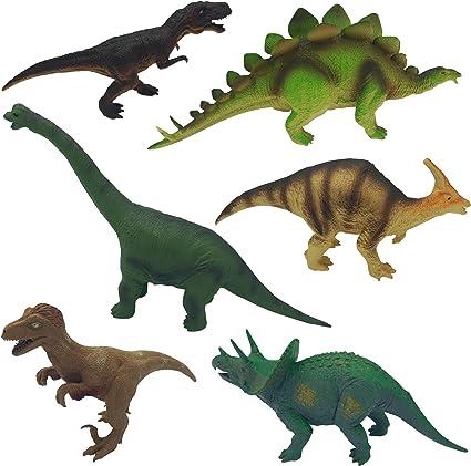 Realistic Styracosaurus  Solid Plastic Dinosaur Figure Toy Model Best Gift Kids