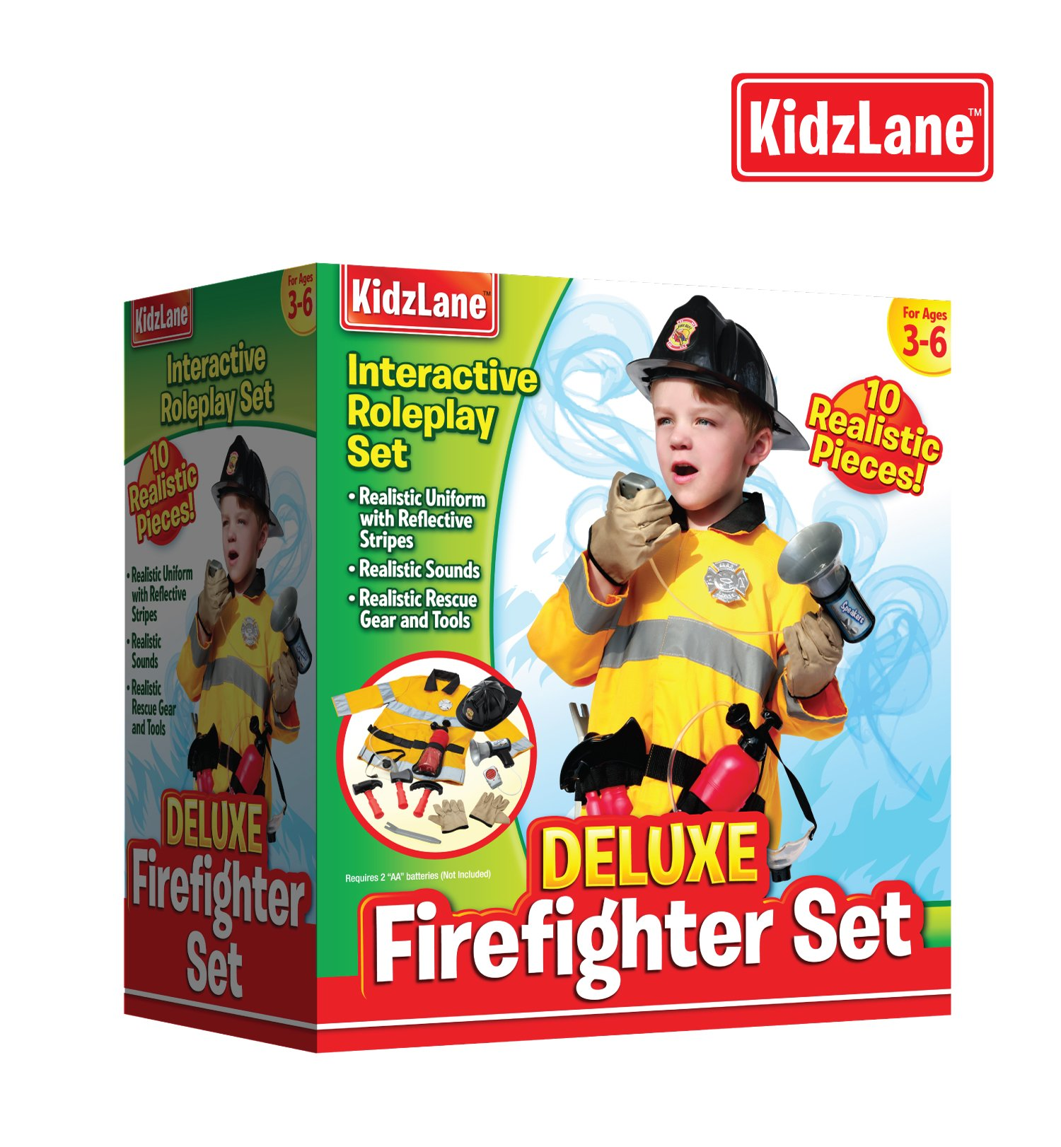 Pretend Play Firefighter Set by Kidzlane (Image #4)