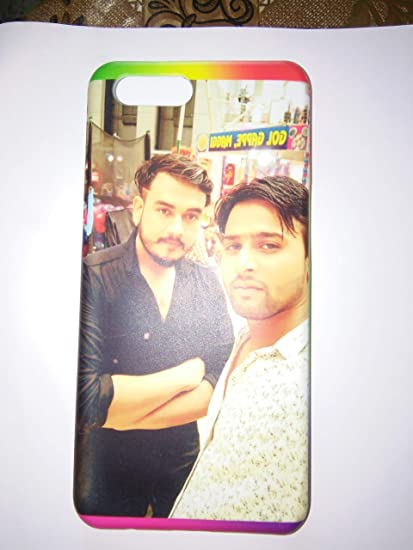 save off 3de7c 1457a sai colours/Magic Prints Personalized 3D Printed Mobile Back Case for Oppo  A57 with Your Own Photo and Message (Multicolour)