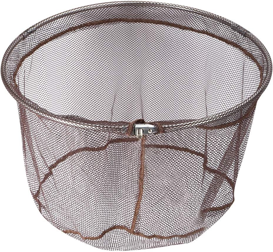 Outdoor Quick Dry Fish Landing Net Portable Landing Dip Net Head with 8mm Interface