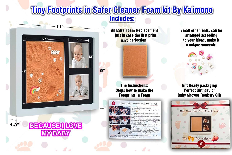 Baby Handprint Picture Frame Kit