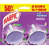 Bloco Sanitário Harpic Aroma Lavanda, 2 unidades