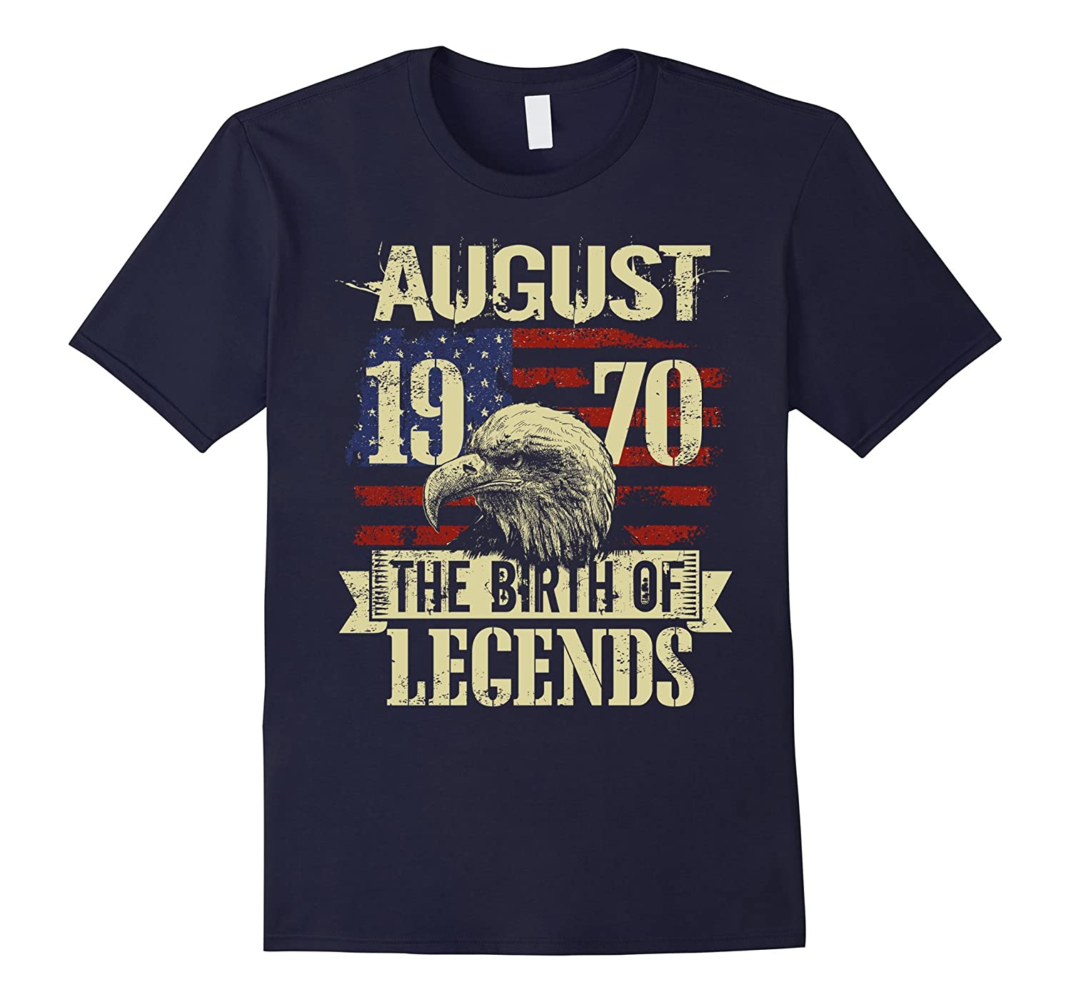 1970 August The Birth Of Legends Gift 47 Yrs Years Old 47th-Art
